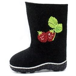 Обувь валяная Кукморская на формованной подошве с вышивкой - фото 8037