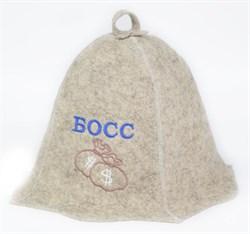 Банные шапки с вышивкой - фото 8536