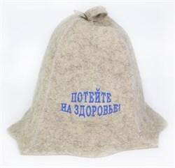 Банные шапки с вышивкой - фото 8537