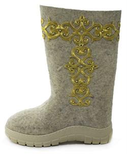 Обувь валяная Кукморская на формованной подошве - фото 8682
