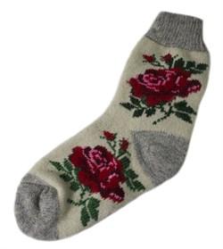 Шерстяные носки женские - фото 9322