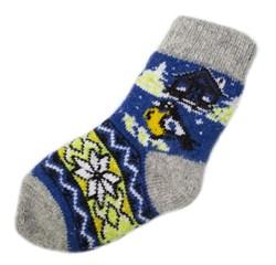 Шерстяные носки детские - фото 9323