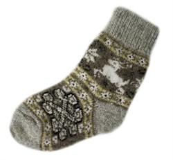 Шерстяные носки детские - фото 9324