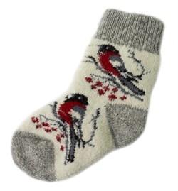 Шерстяные носки детские - фото 9325
