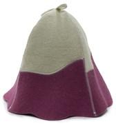 Банная шапка комбинированная